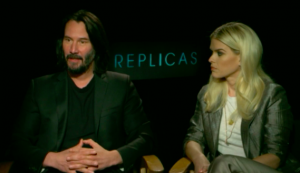 Keanu Reeves and his passion project, 'Replicas'