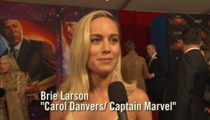 """Captain Marvel"" World Premiere Red Carpet"