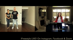 iFreeStyle Dance LIVE! classes